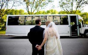 wedding bus